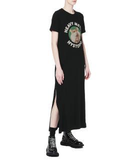 Heavy metal graphic t-shirt dress