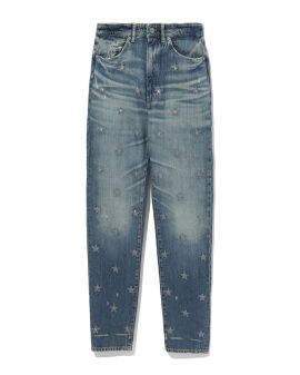 Sequin star jeans