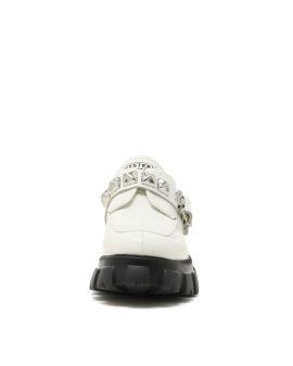 Studs belt combat shoes