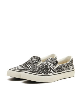 Yankee girl slip-on sneakers