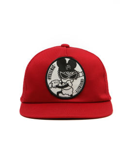 Graphic patch hat