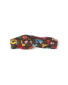 Teddy mini monogram hair band