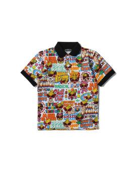 Good vibes polo shirt