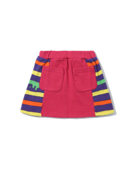 Dropping Border mini skirt