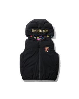 Mini chan hooded vest