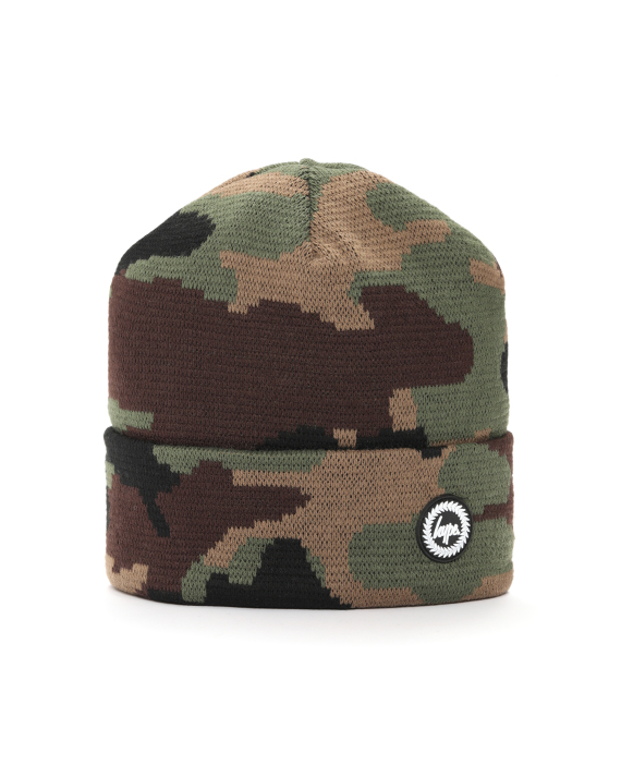 9293af1e08f HYPE Camouflage intarsia beanie