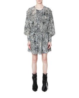 Patterened mini dress