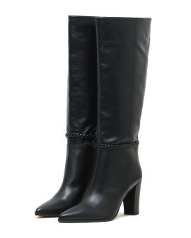 Nicks leather high boots