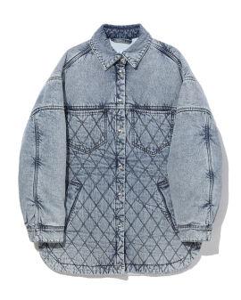 Elemy denim overshirt jacket
