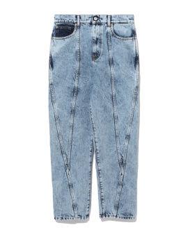Celsian acid washed jeans