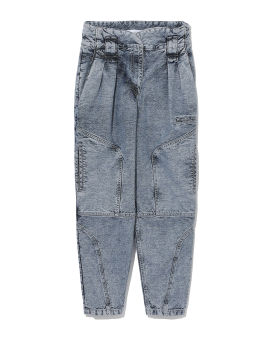 Stone-washed jeans