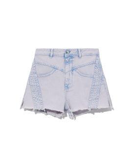Berto denim shorts