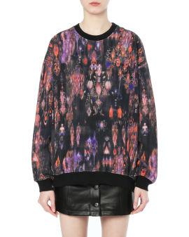 Laya pattern print sweatshirt