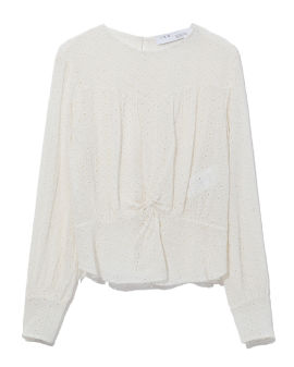 Kithnos embroidered top