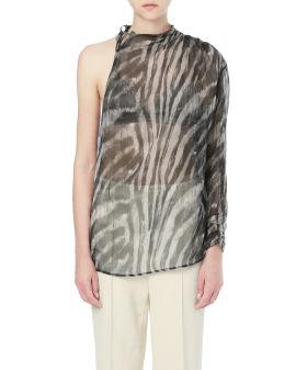 Gaia zebra print top