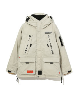 Army cargo overcoat