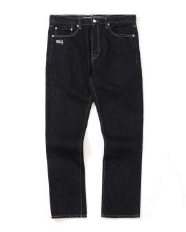 NHIZ contrast stitch jeans