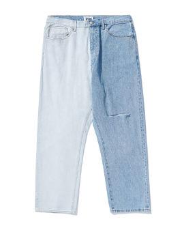 Colour block jeans