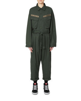 Army patch jumpsuit