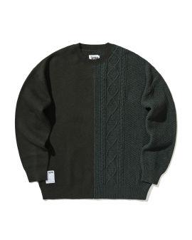 Spliced sweater