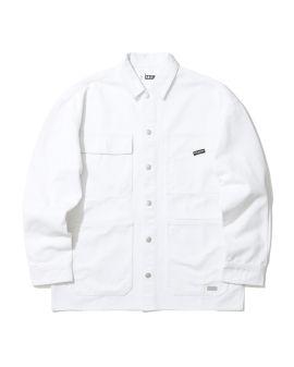Cotton twill multi pocket jacket