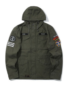 Army badge military jacket