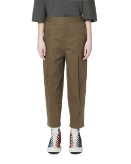 Pleated tailored pants