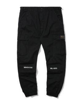 NHIZ graphic print cargo pants