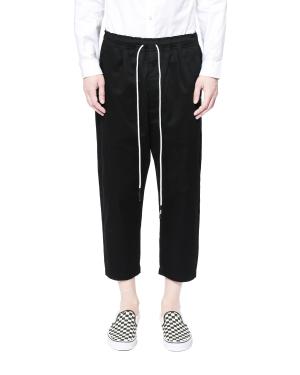 Drawstring waist chino pants