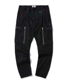 Cargo zip pocket joggers