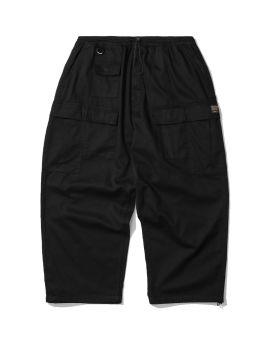Multi pocket wide cargo pants