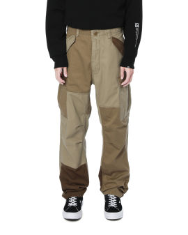 Army patchwork trousers