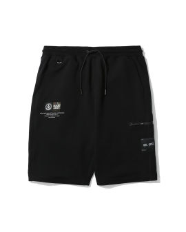 Interlock label sweat shorts