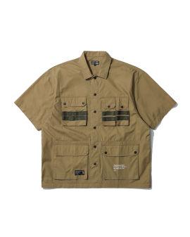 Poplin patch pocket shirt