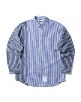 Contrast stripes shirt
