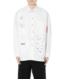 Army paint splash shirt