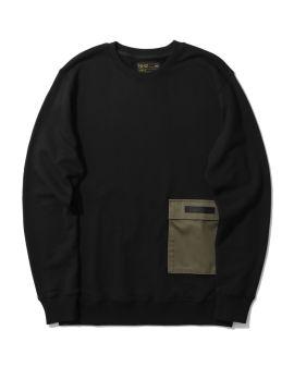 NHIZ pocket sweatshirt