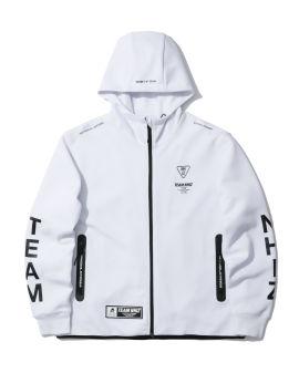 NHIZ hooded zip jacket