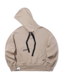 Leopard tape hoodie