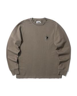 Paper clip sweatshirt