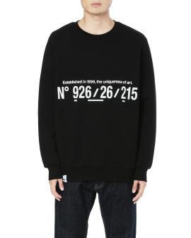 Coordinates sweatshirt