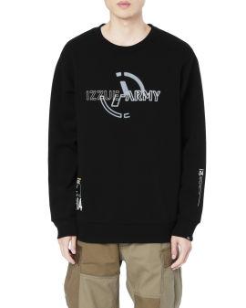 Army logo sweatshirt