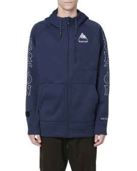 X Burton Danning zip up hoodie