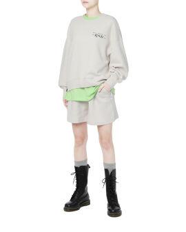 Sweatshirt and shorts set