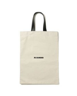 Large Flat logo shopper bag