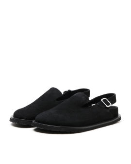 X Birkenstock Berlin slingback sandals