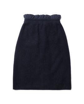 A-line puffed skirt