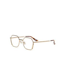 Hexagon frame optical glasses