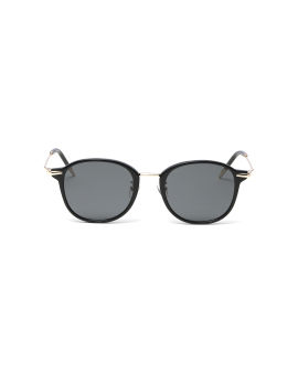 Tinted oval glasses