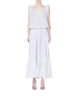 Gracie linen maxi dress
